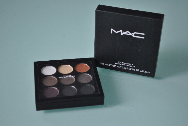 Тени Mac Eye Shadow х 9 9цв. mix 6шт.