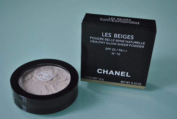 Пудра Chanel Les Beiges mix 6шт.