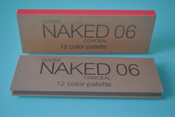 Тени Naked 06 Cover Conceal 12цв
