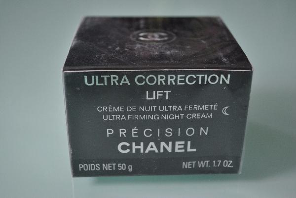 Крем для лица ночной Chanel Ultra Correction Lift 50g (черный)