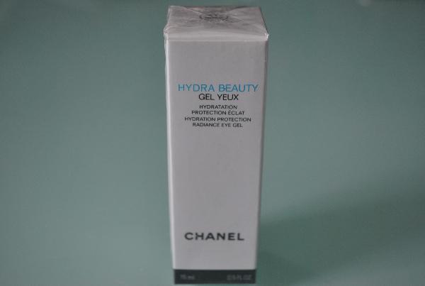 Гель для кожи вокруг глаз Chanel Hydra Beauty Gel Yeux 15g (белый)