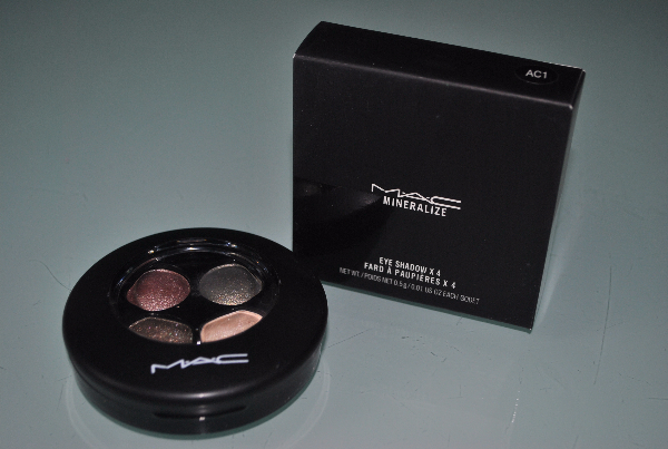 Тени Mac Mineralize Eye Shadow x4 4цв. mix 6шт.