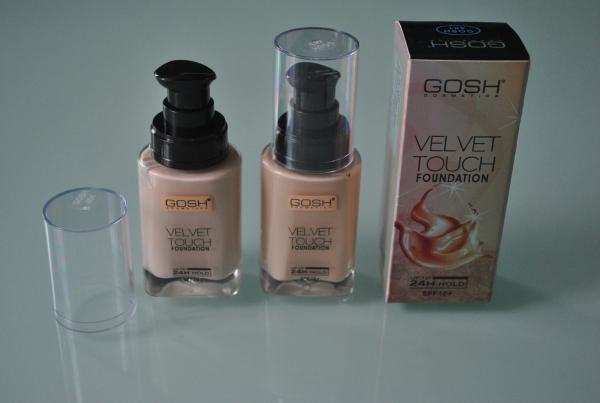 Тональный крем Gosh Velvet Touch mix 4шт.