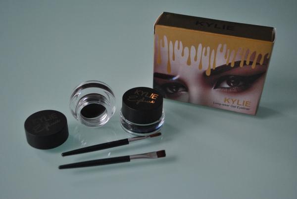 Подводка гель Kylie Long-wear Gel Eyeliner (черная+коричневая)