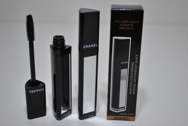 Тушь с зеркалом Chanel Mascara Lengthening Intense Waterproof Black 10g.  #9465 силикон