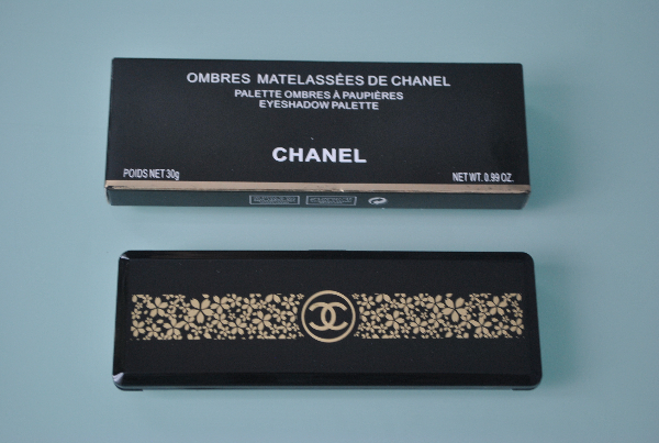 Тени Chanel Ombres Matelassees De Chanel 10цв.