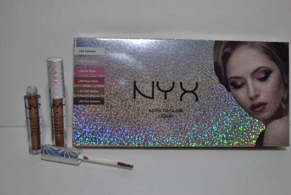 Блеск NYX Born To Glow Liquid mix 12шт.