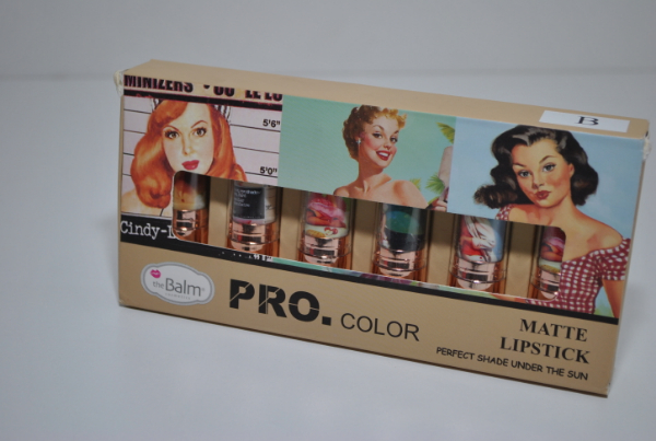Помада The Balm Cosmetics Pro Color 6шт.
