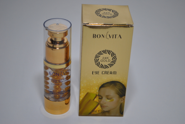 Крем вокруг глаз Bonvita Activing Gold Anti-wrinkle Pearl Eye Cream 30ml.  (шарики)
