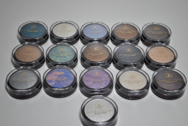 Тени Anastasia Eye Shadow 6g. 1цв. mix 16шт.