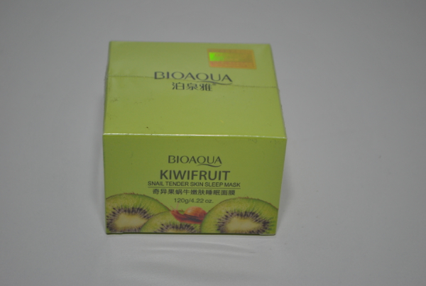 Маска Bioaqua Kiwifruit Snail Tender Skin Sleep Mask 120ml.