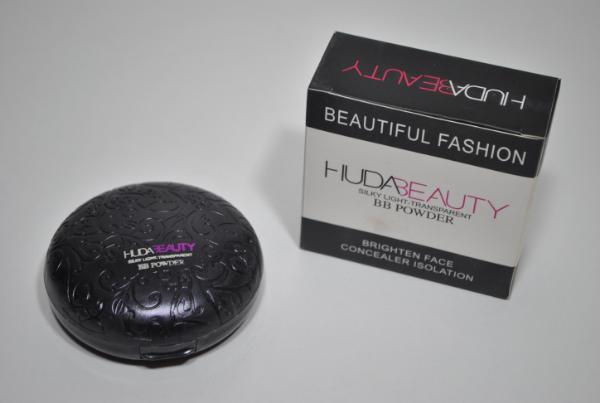 Пудра Huda Beauty Silky Light Transparent BB Powder 10g. 2in1 mix 2шт