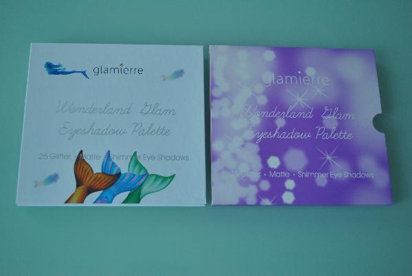 Набор тени+глиттеры Glamierre Wonderland Glam Eyeshadow Palette (тени 20цв + глиттеры 5цв)