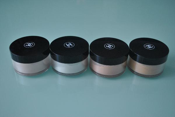 Пудра расыпчатая с эффектом сияния Chanel Illuminator Lost Powder 12g. mix 4шт